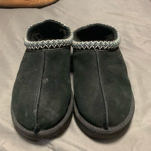 Black Tasman Ugg Slippers
